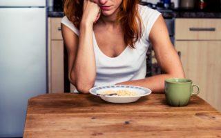 Когда беспокоиться об изменениях аппетита